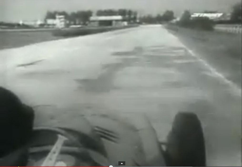 """fbf20333da FANGIO ON BOARD F1 1957 .""""Aerautodromo"""" di Modena"""