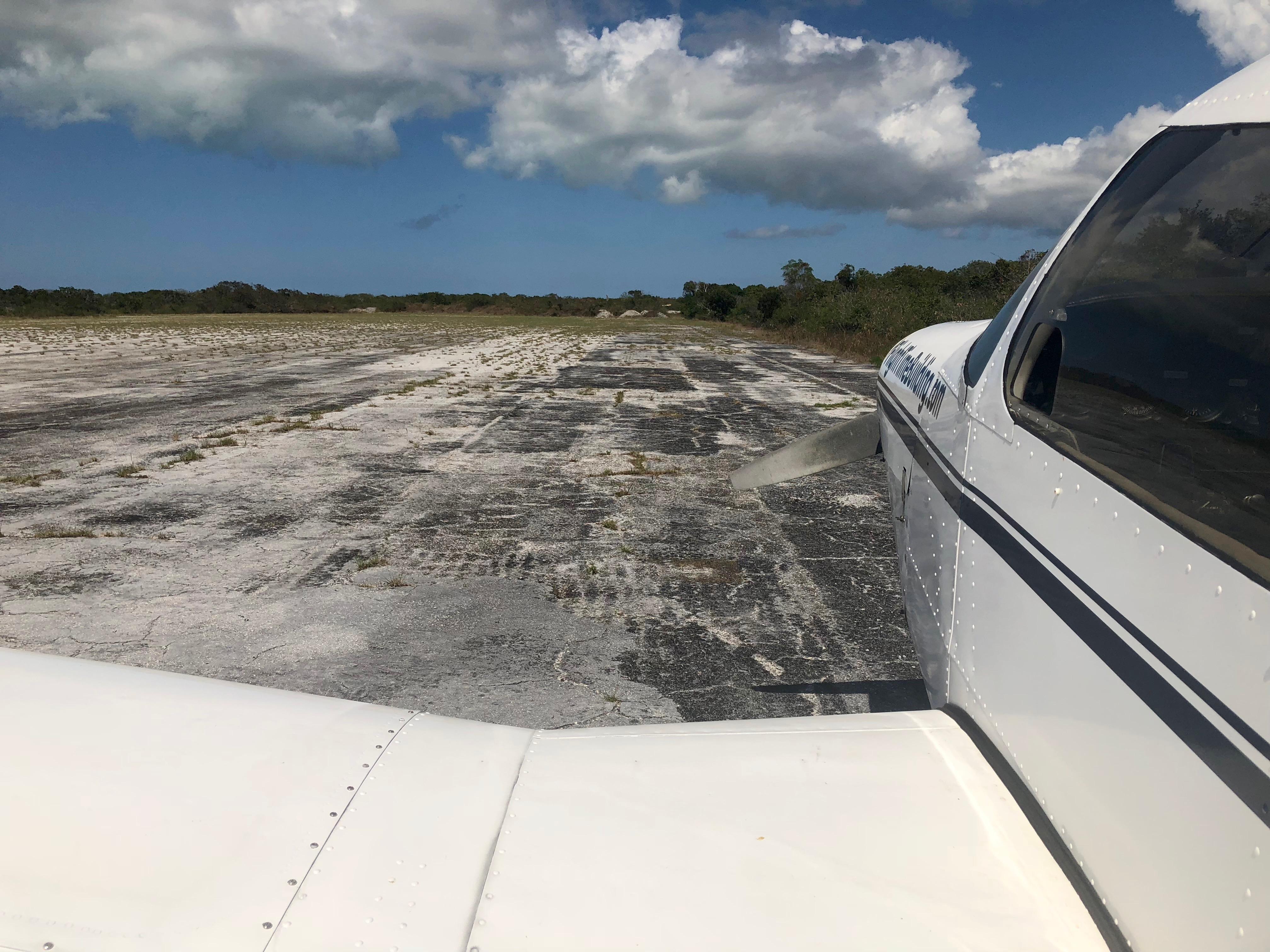 Apron at Mayaguana